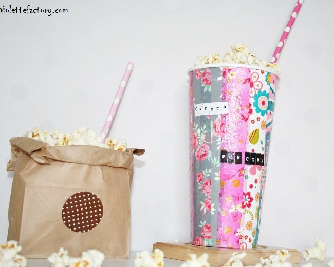 diy d copatch 2 un pot pop corn r cup 39 cultura. Black Bedroom Furniture Sets. Home Design Ideas