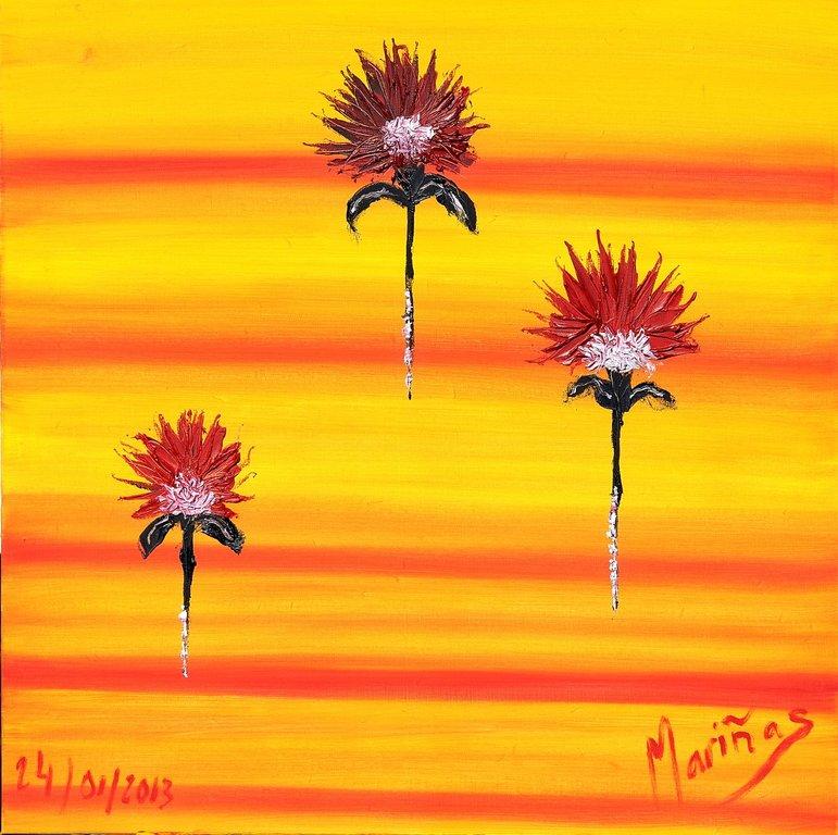 Fleurs qui Volent