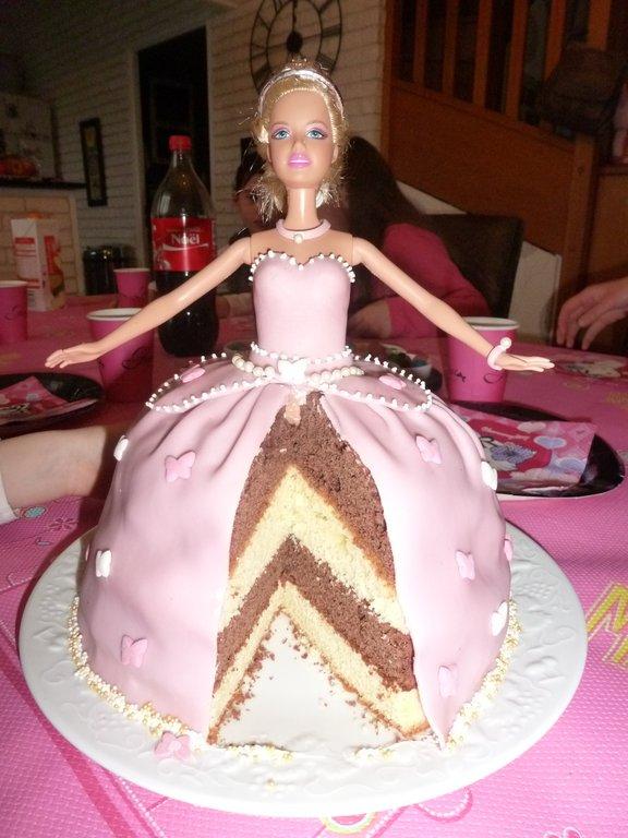 Concours gâteau danniversaire , Barbie Princesse