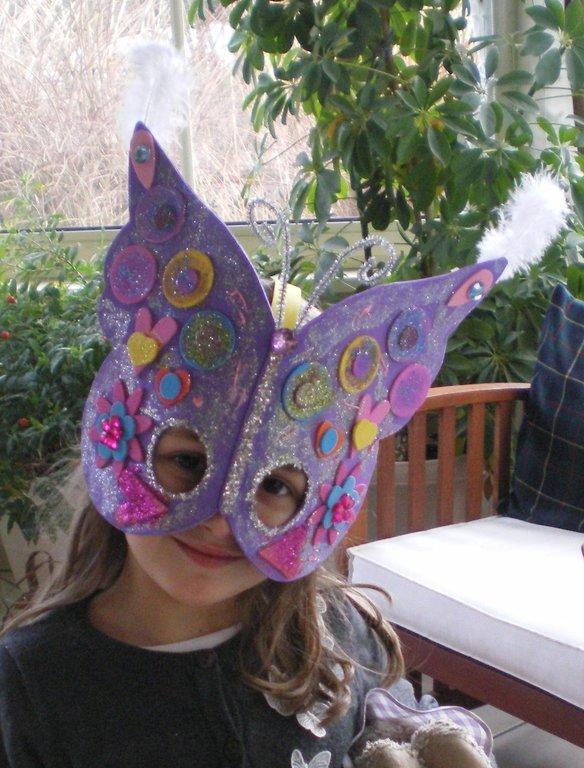 Concours masque carnaval papillon m lanie 4 5 - Masque papillon carnaval ...