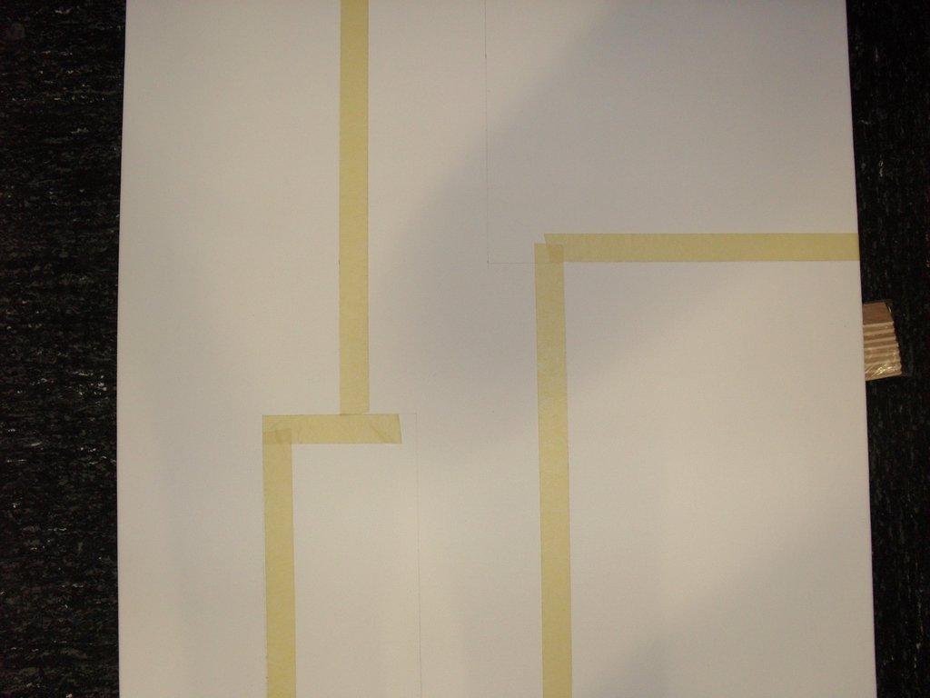 Pas pas tableau arabesques cultura for Peindre un miroir dore
