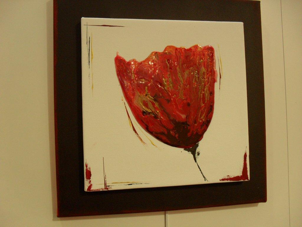 Pas a pas home d co tulipe r sine cultura for Peinture resine deco