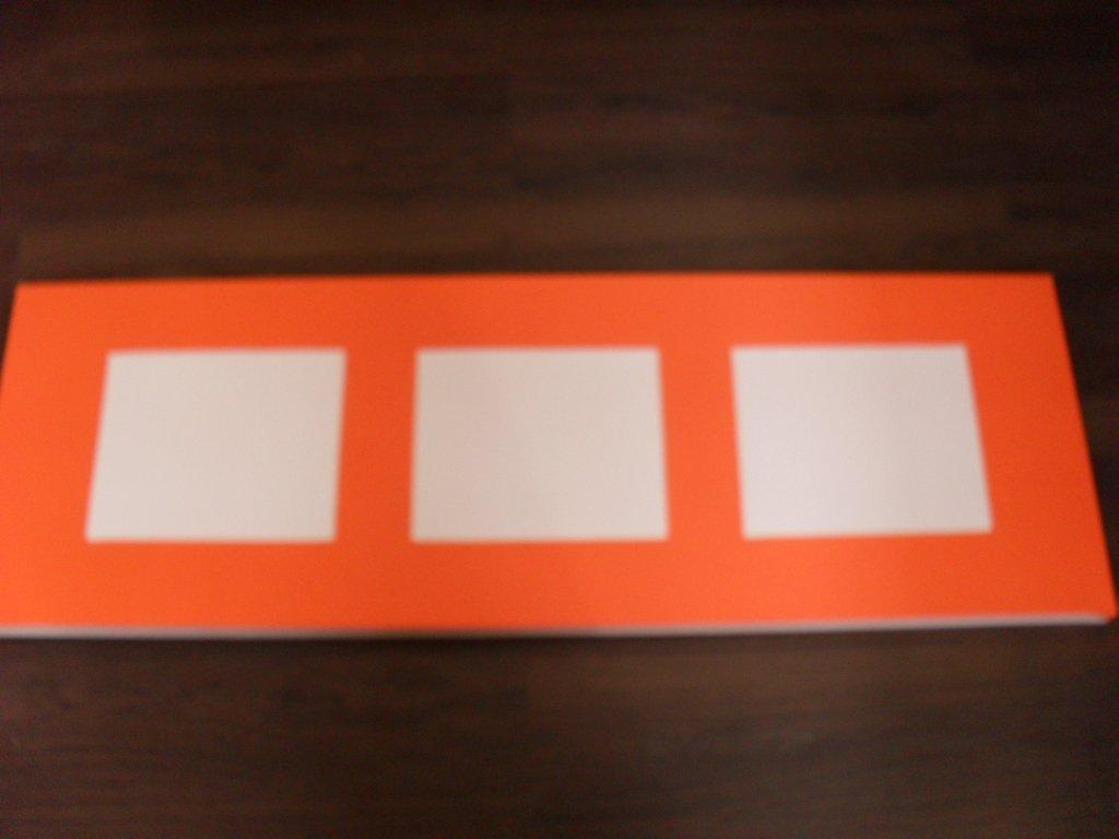 pas pas home d co abstrait orange cultura. Black Bedroom Furniture Sets. Home Design Ideas