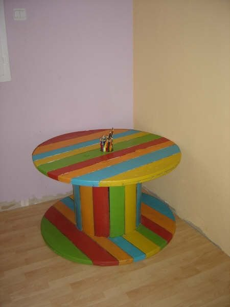 objets d tourn s en meubles customis s cultura. Black Bedroom Furniture Sets. Home Design Ideas