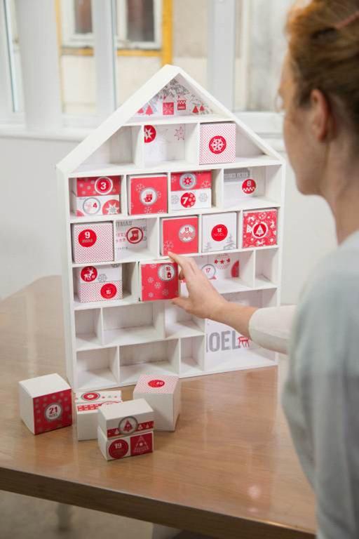 tuto de no l maison de l 39 avent cultura. Black Bedroom Furniture Sets. Home Design Ideas