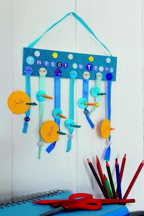 tuto kids fabrique ton emploi du temps pour la r. Black Bedroom Furniture Sets. Home Design Ideas