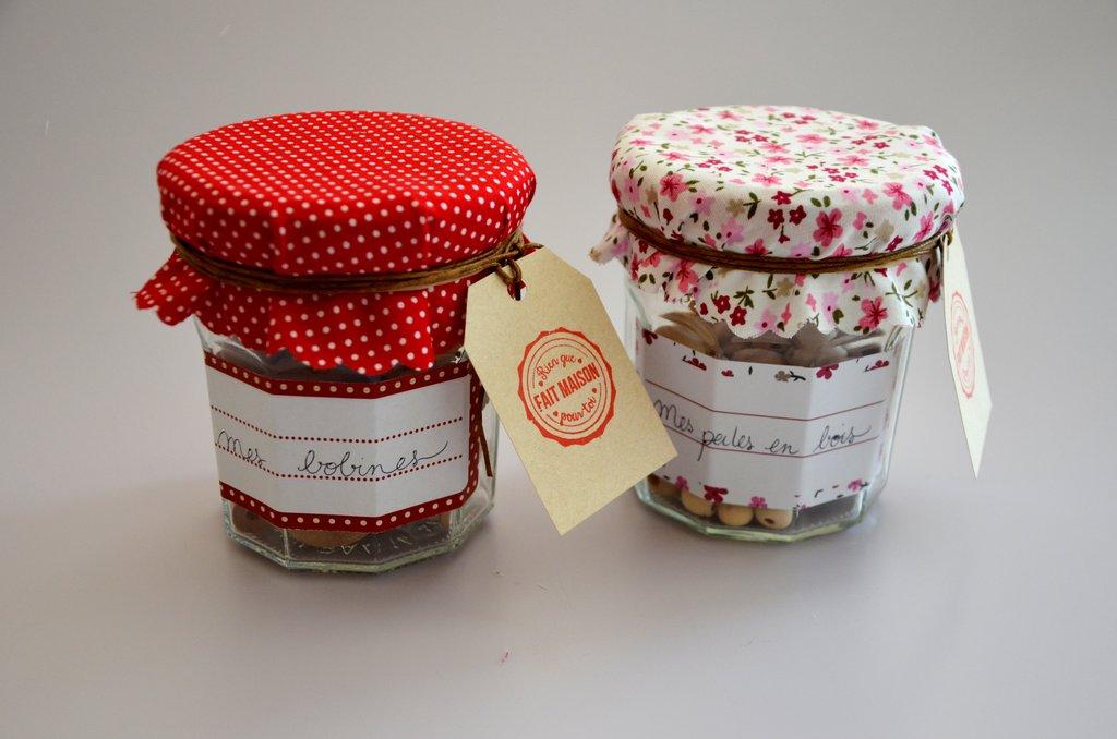 Des bocaux d co pour la f te des mamans cultura - Decoration pot de confiture ...