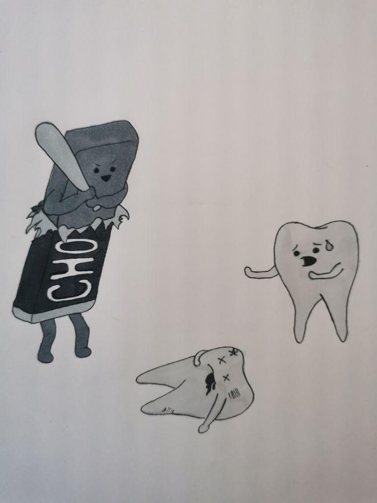 Jour 7: Dents