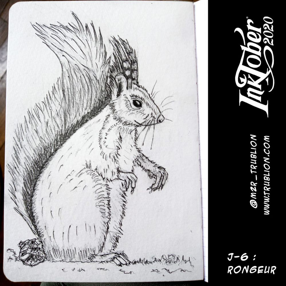 Rongueur / Rodent - Inktober 2020