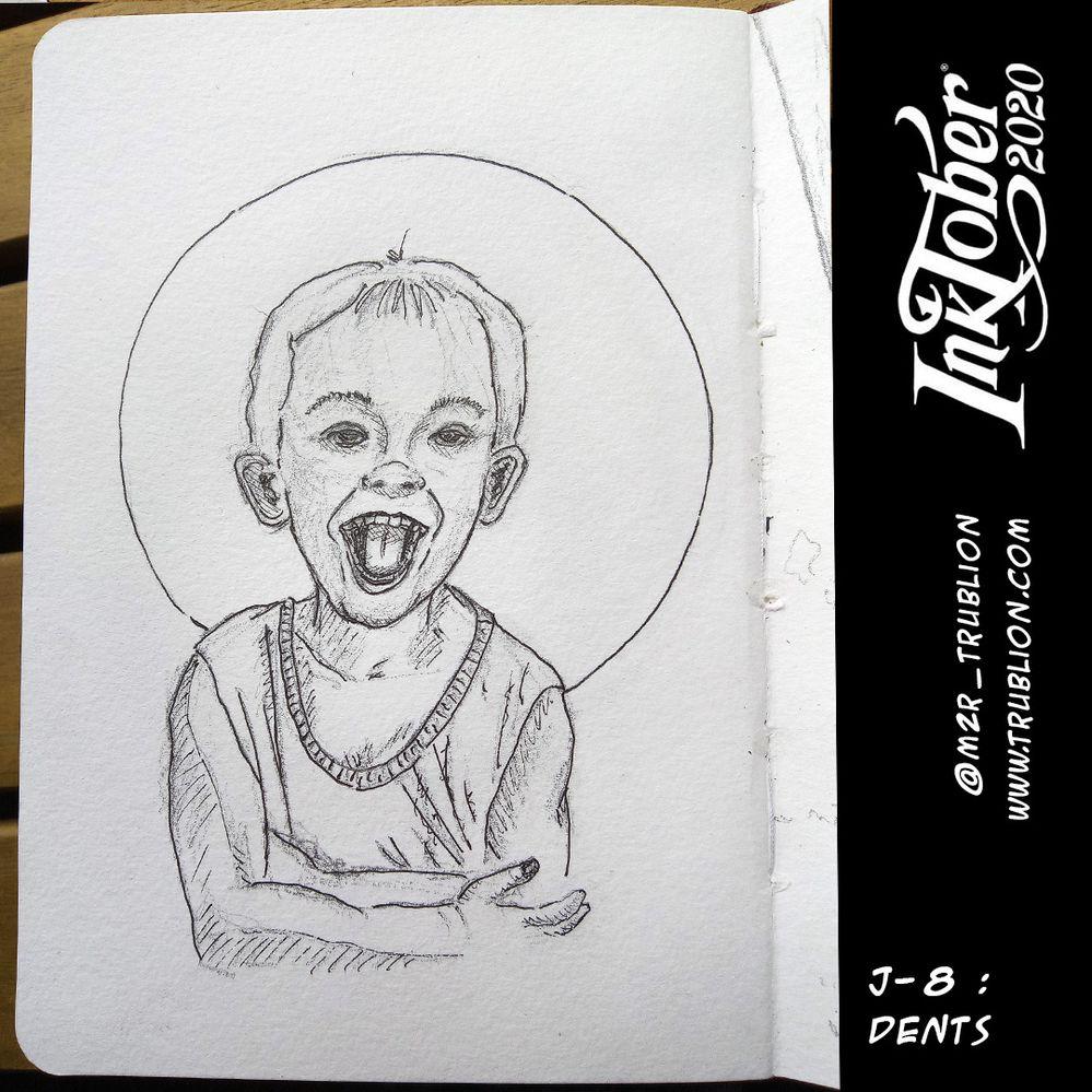 Dents / Teeth - Inktober 2020