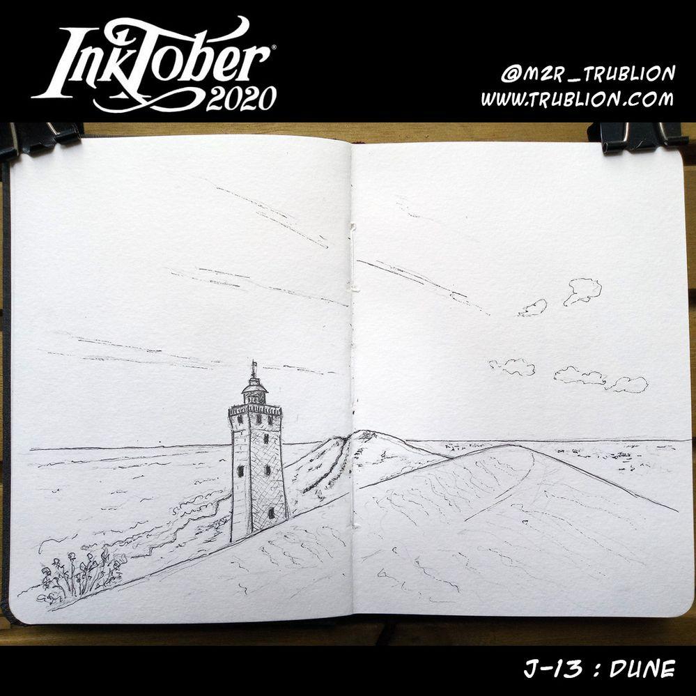 Dune - Inktober 2020