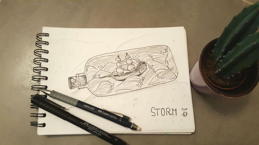 Jour 17 - Storm
