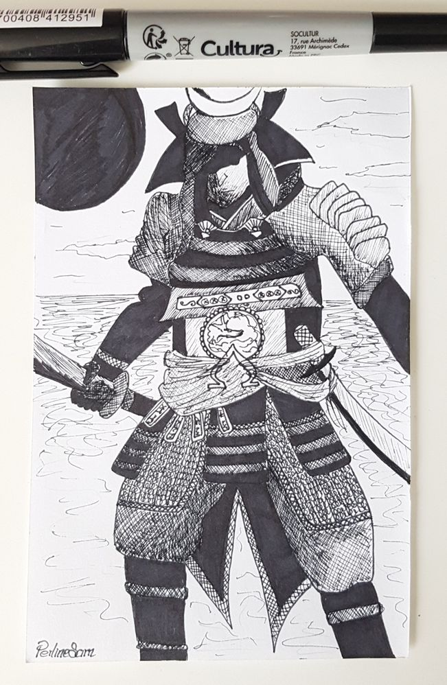 Inktober Jour 14 : Armor