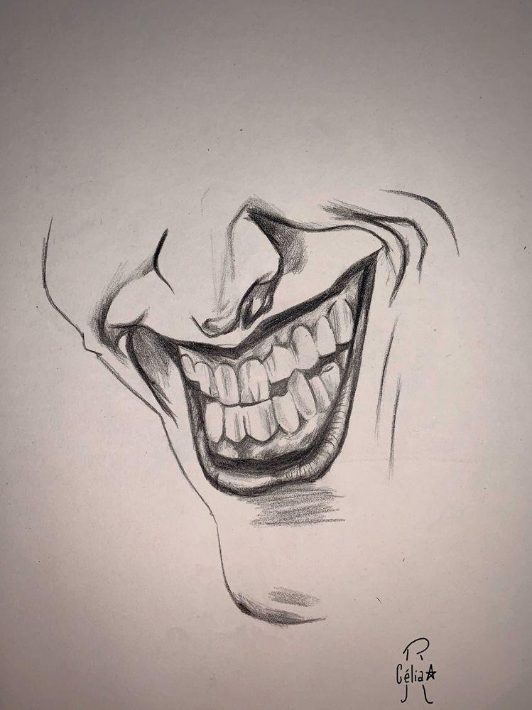 8 TEETH/DENT comme le Joker