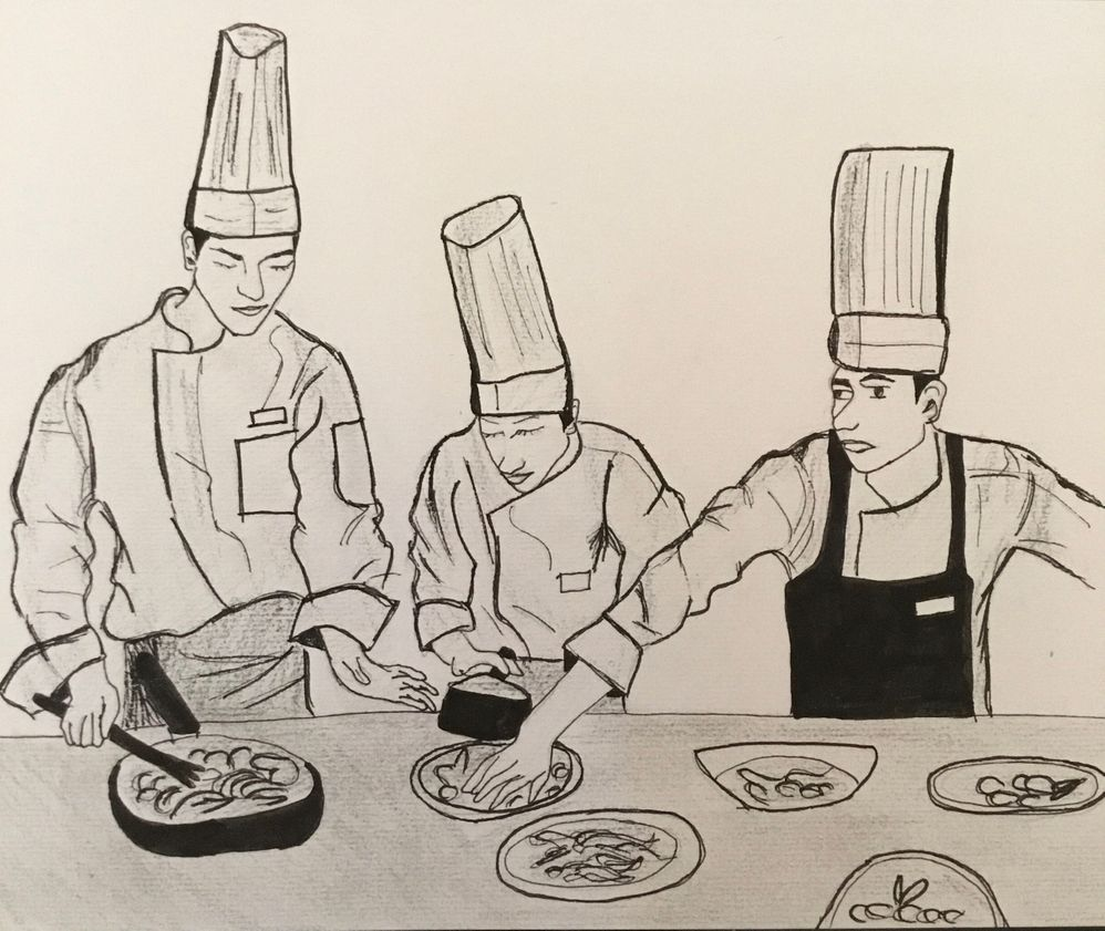 Jour 22 : chef cuisinier