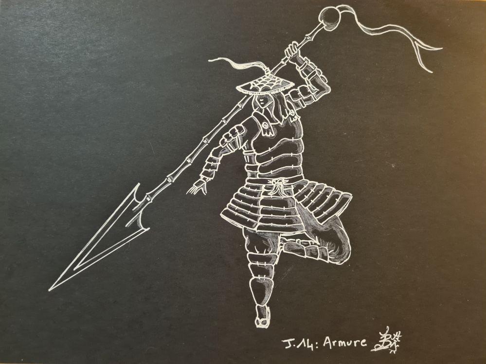 J 14 armure