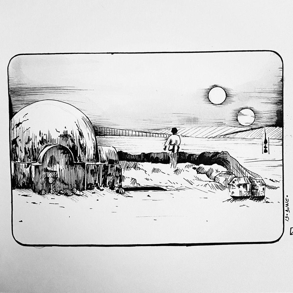 Jour 13 : dune : les dunes de tatooine