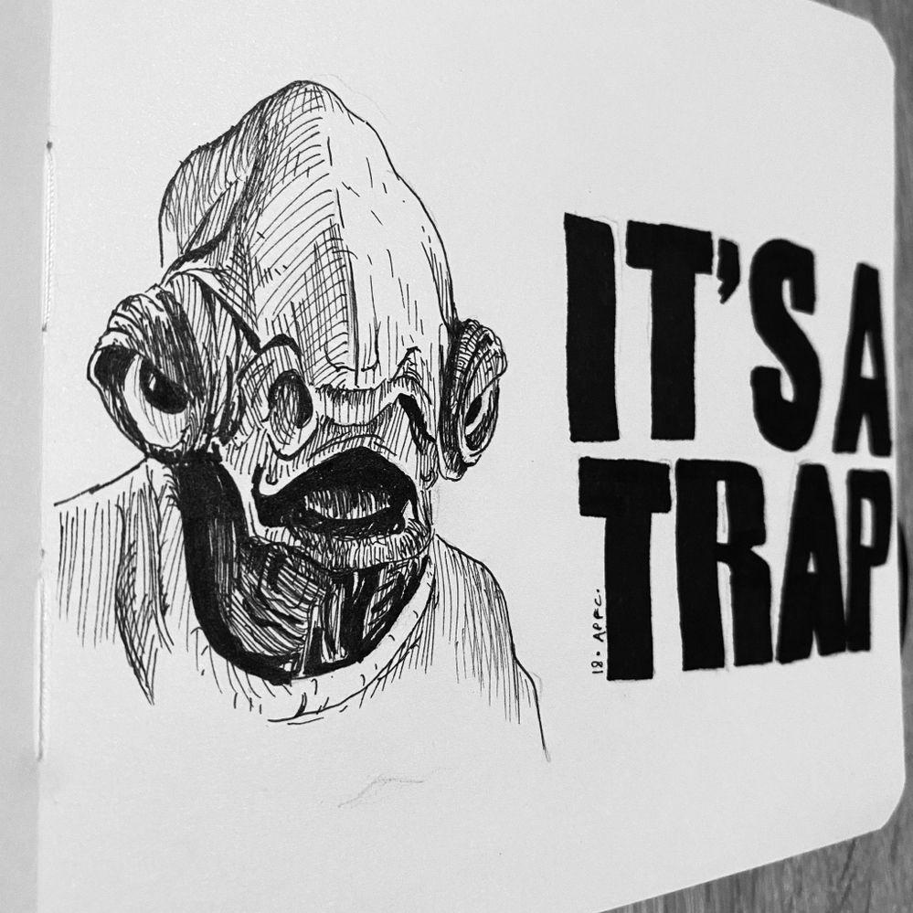 Jour 18 : Trap ... je n'ai pas fait dans l'originalité mais ça était tellement évident ;) peu être était ce le piège à éviter ?