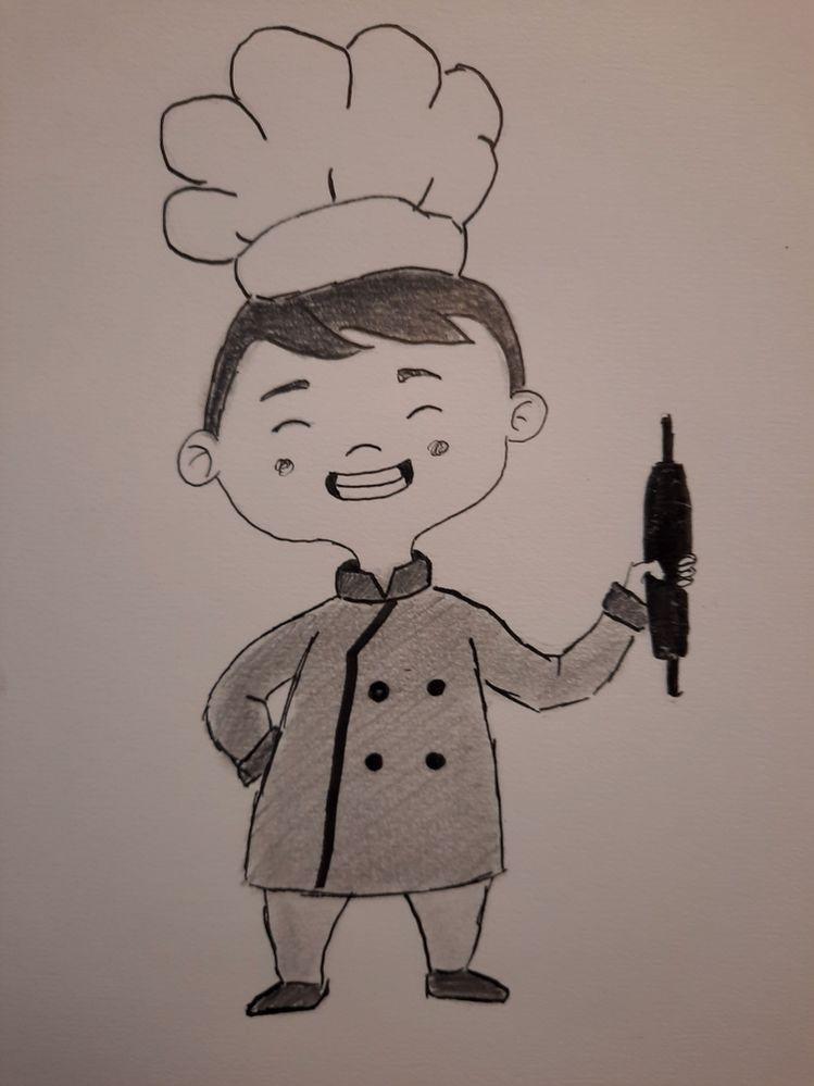 Jour 22 : chef