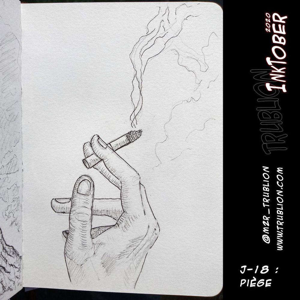 Trap - piège / Inktober 2020