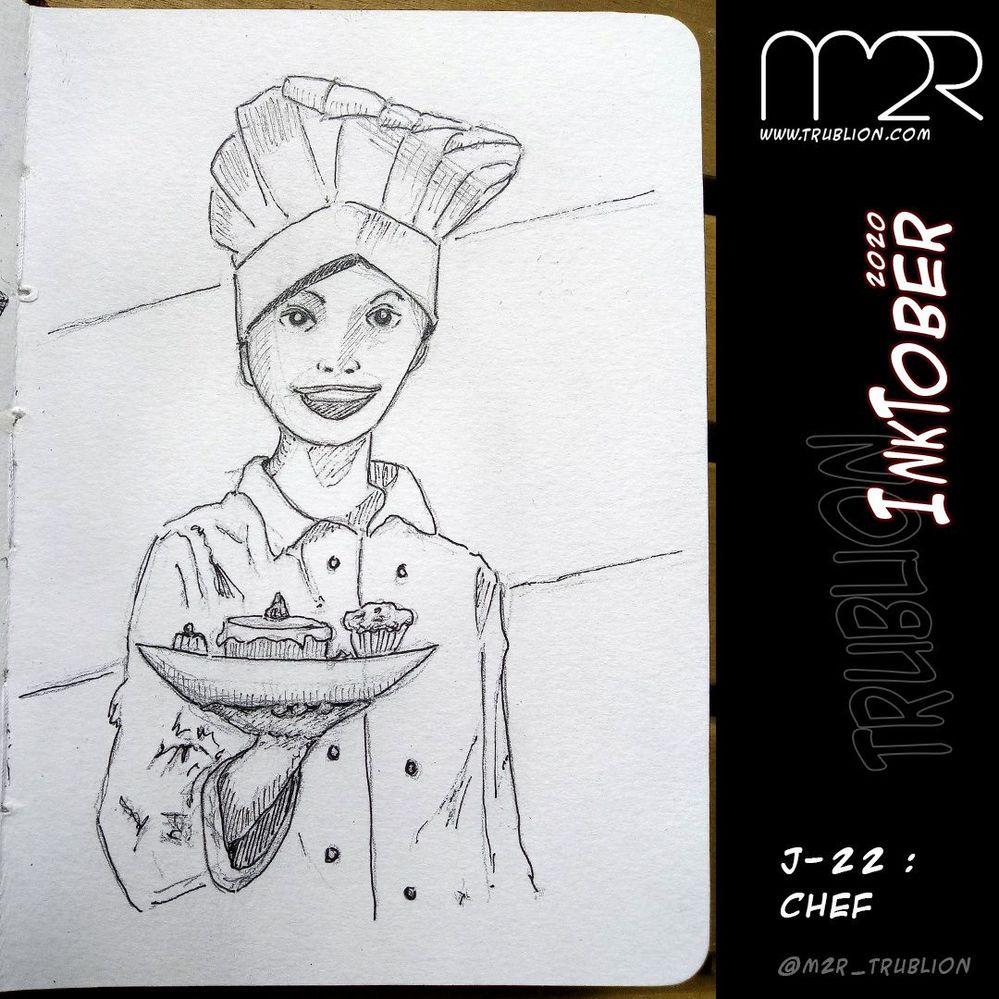 Chef - Inktober 2020