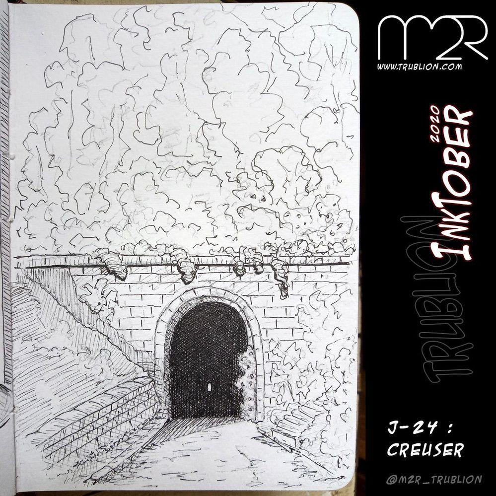 Dig / Creuser - Inktober 2020