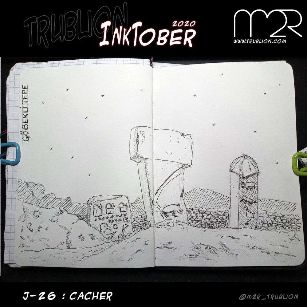 Hide / Cacher - Inktober 2020