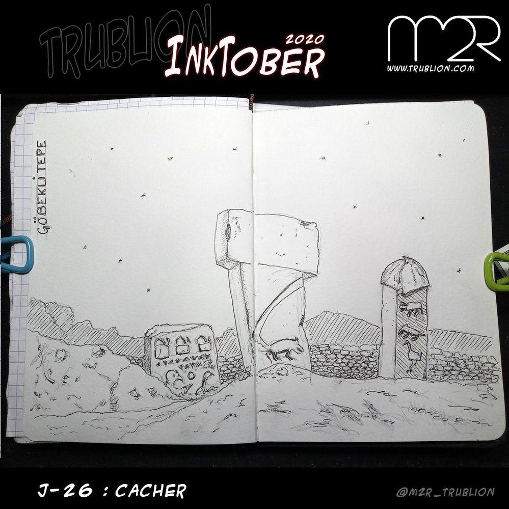 Hide / Cacher - Inktober 2020