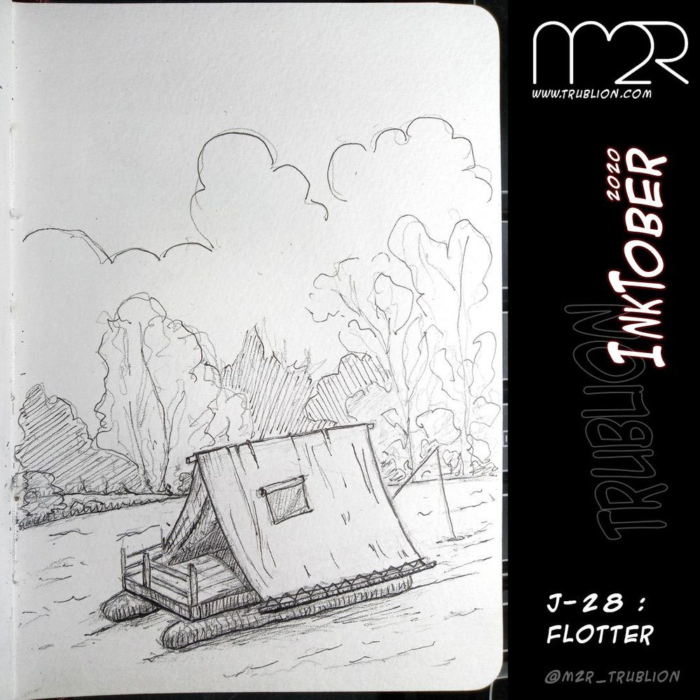 Float / Flotter - Inktober 2020