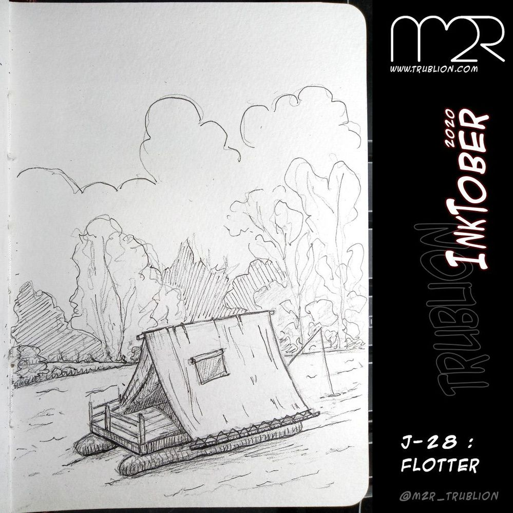 Float / Flotter - Inktober 2020