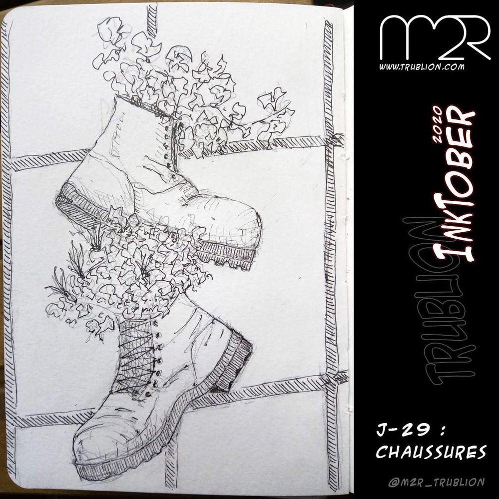 Shoes / Chaussures - Inktober 2020