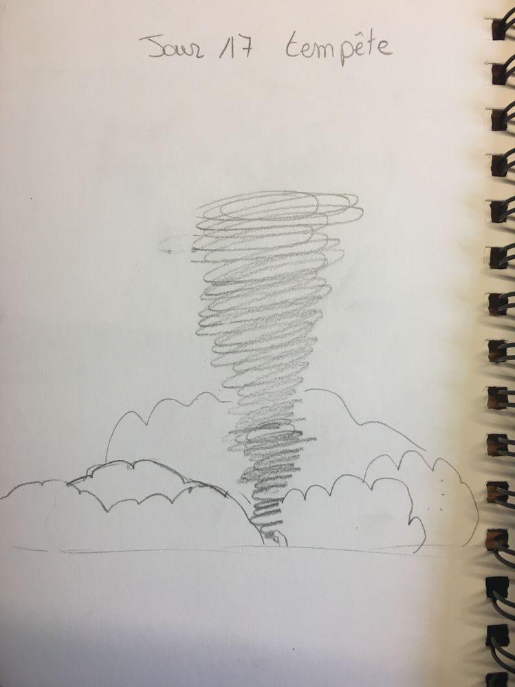 Jour 17 : Tempête