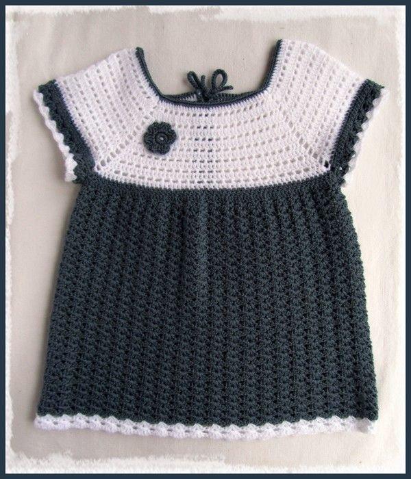 Une Petite Robe Bébé Au Crochet Cultura