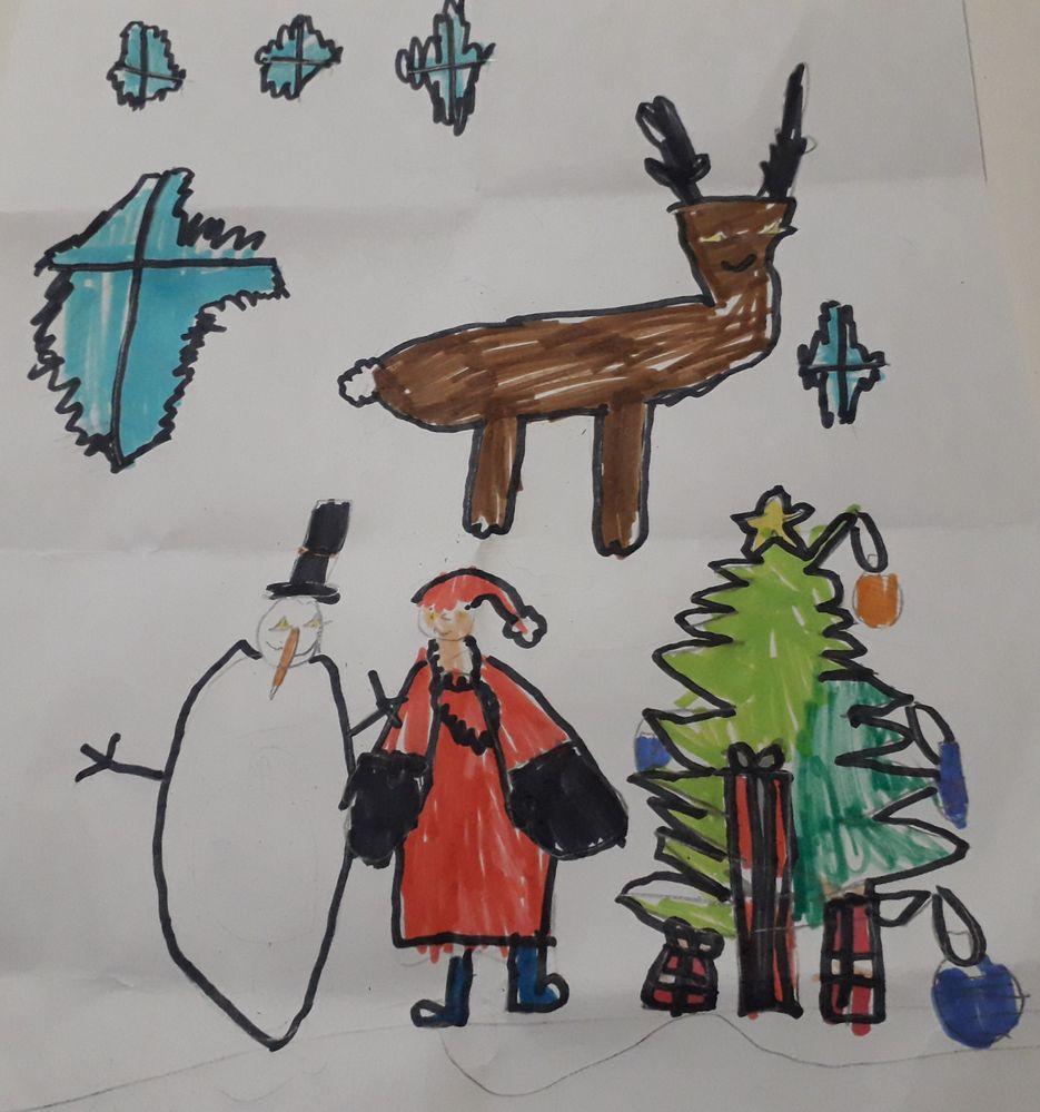 Le village du père Noël en Laponie! Eden 6 ans