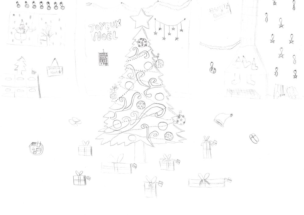 Le Noël de Manon 12 ans