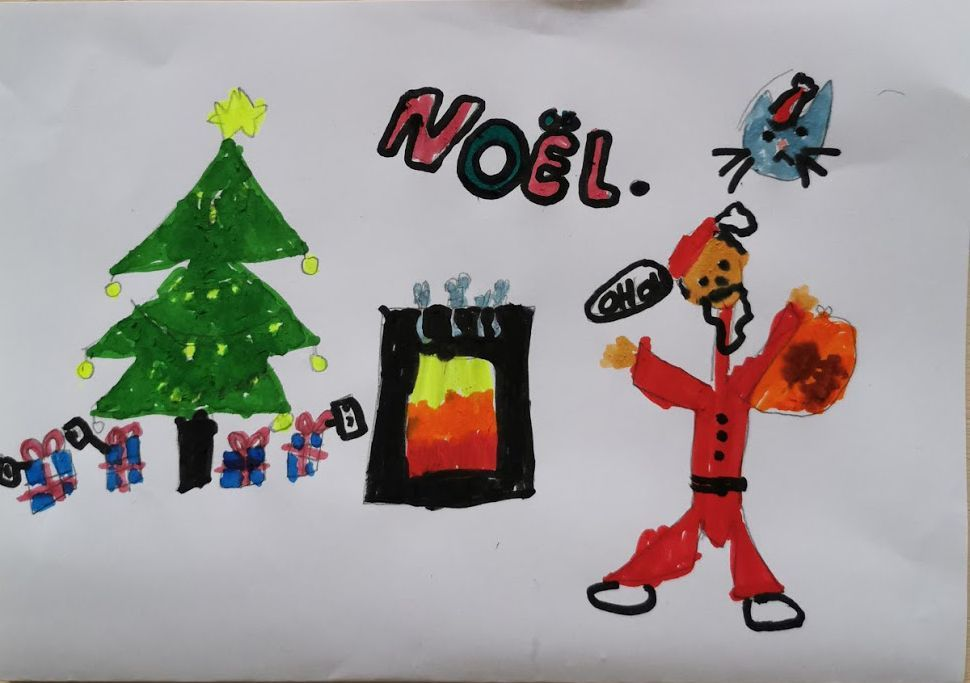 Noël par Ethel 6 ans
