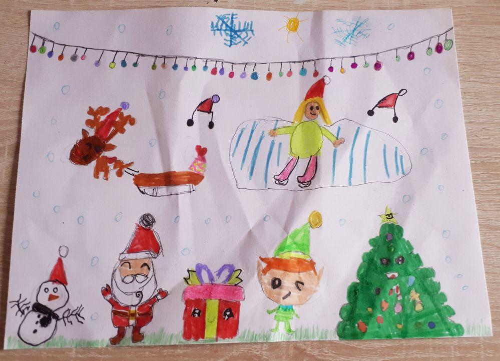 Dessin de Luana, 7 ans, catégorie 6/8 ans