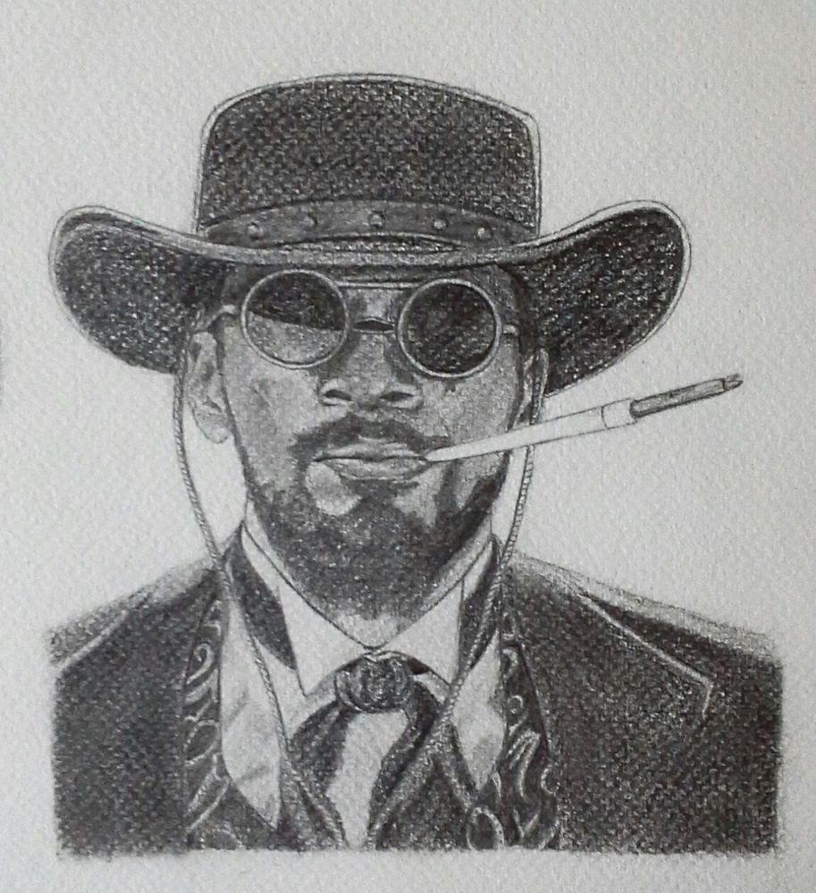 Jamie Foxx dans Django unchained