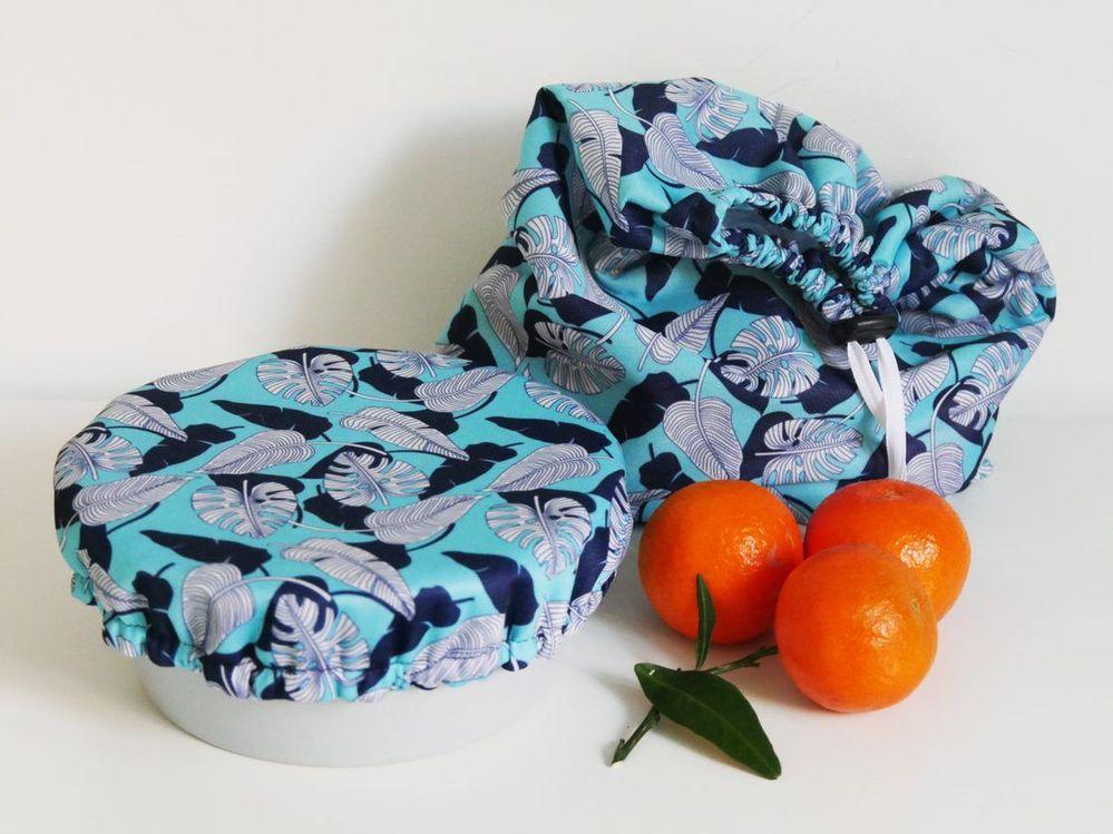 ETAPE 9/9 Conseil: Ce tissu PUL peut aussi être utilisé pour coudre une charlotte couvre-plat réutilisable.
