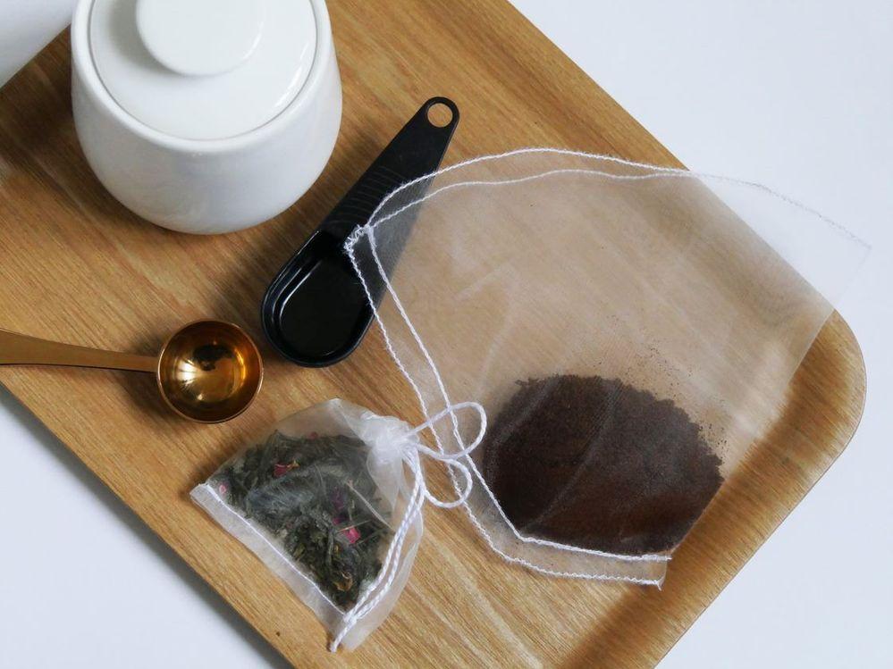 ETAPE 9/9 Vos filtres à thé et café sont prêts pour la dégustation.