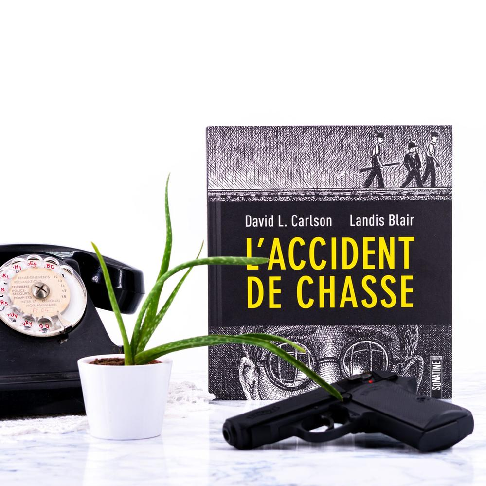 L'accident de chasse - David L.Carson Landis Blair.jpg