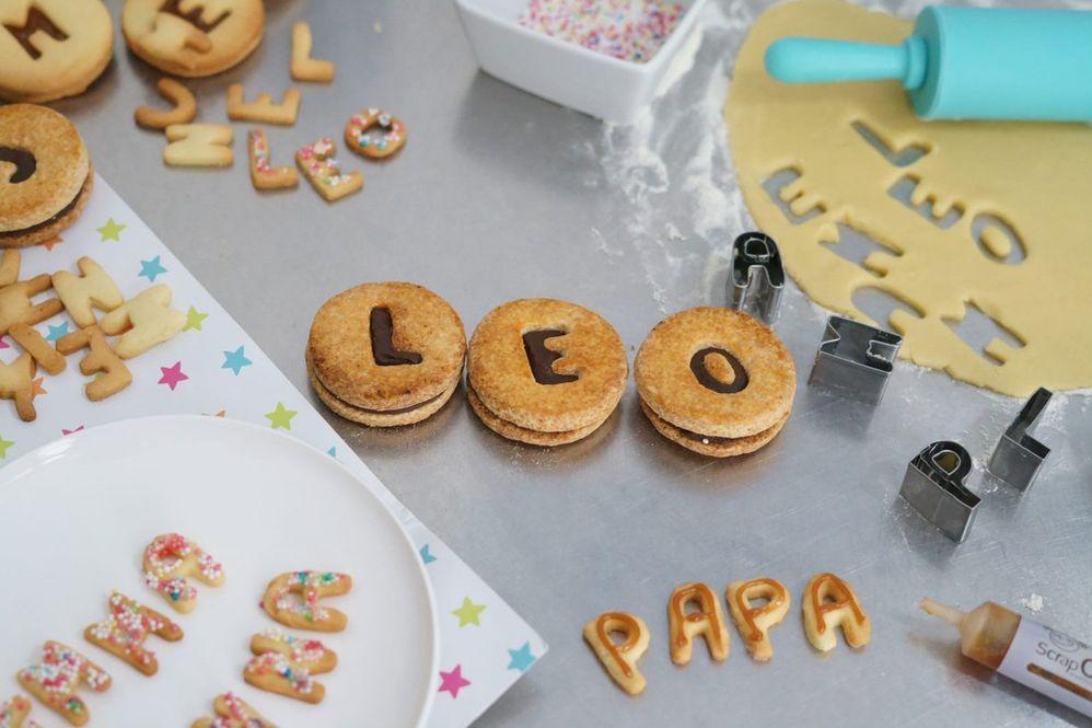 ETAPE 7/7 Les biscuits sont prêts pour être dégustés en famille.