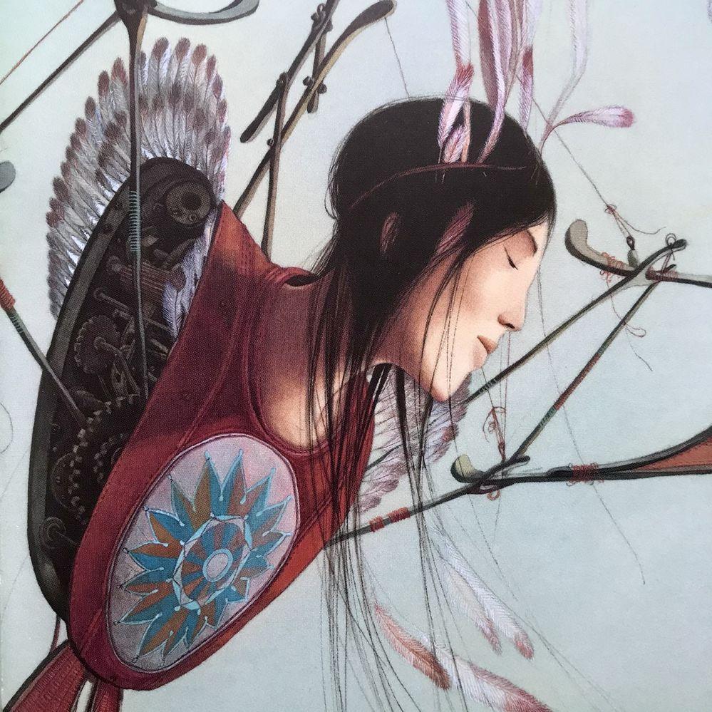 L'homme oiseau, archange Gabriel