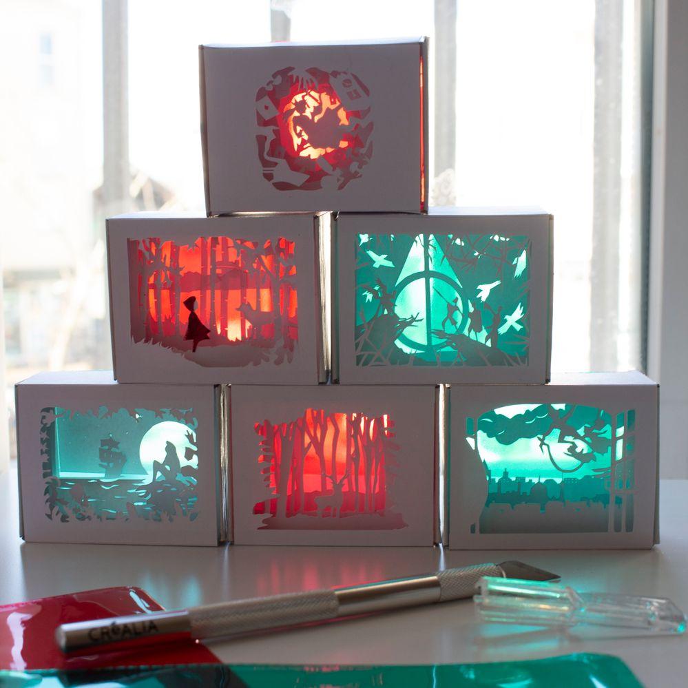 Lightbox avec lumière naturelle