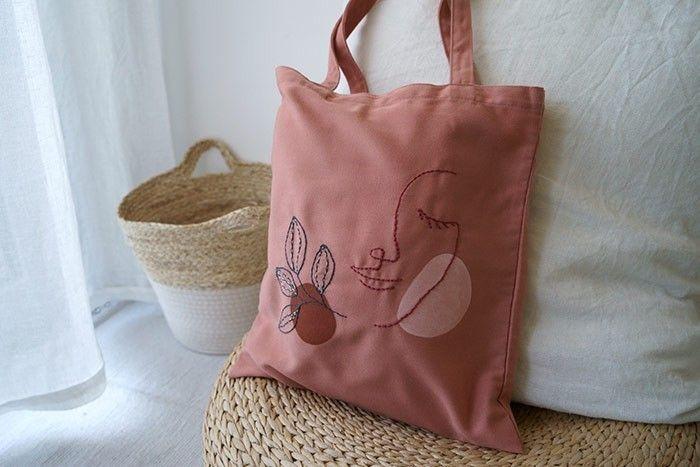 Etape 9/9 Votre sac tote bag est prêt.