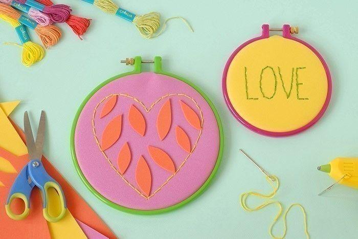 ETAPE 11/11 Les tambours peuvent être offerts ou être accrochés à un mur en guise de décoration.