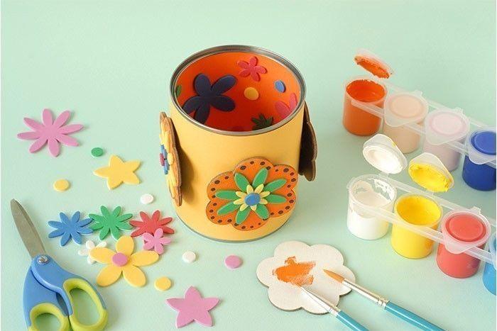 ETAPE 7/7 Le pot à crayons peut être offert ou décorer votre bureau.