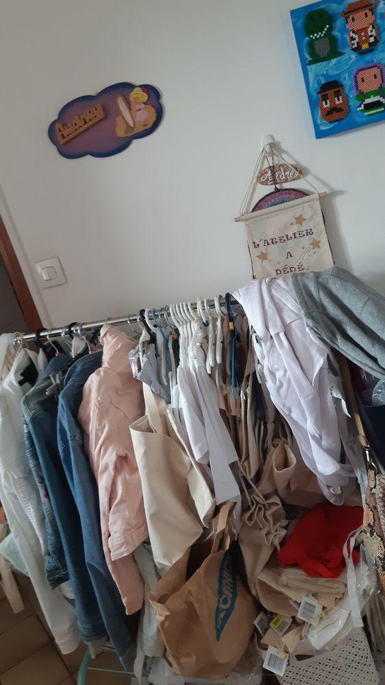 Mes textiles dispo à la customisations