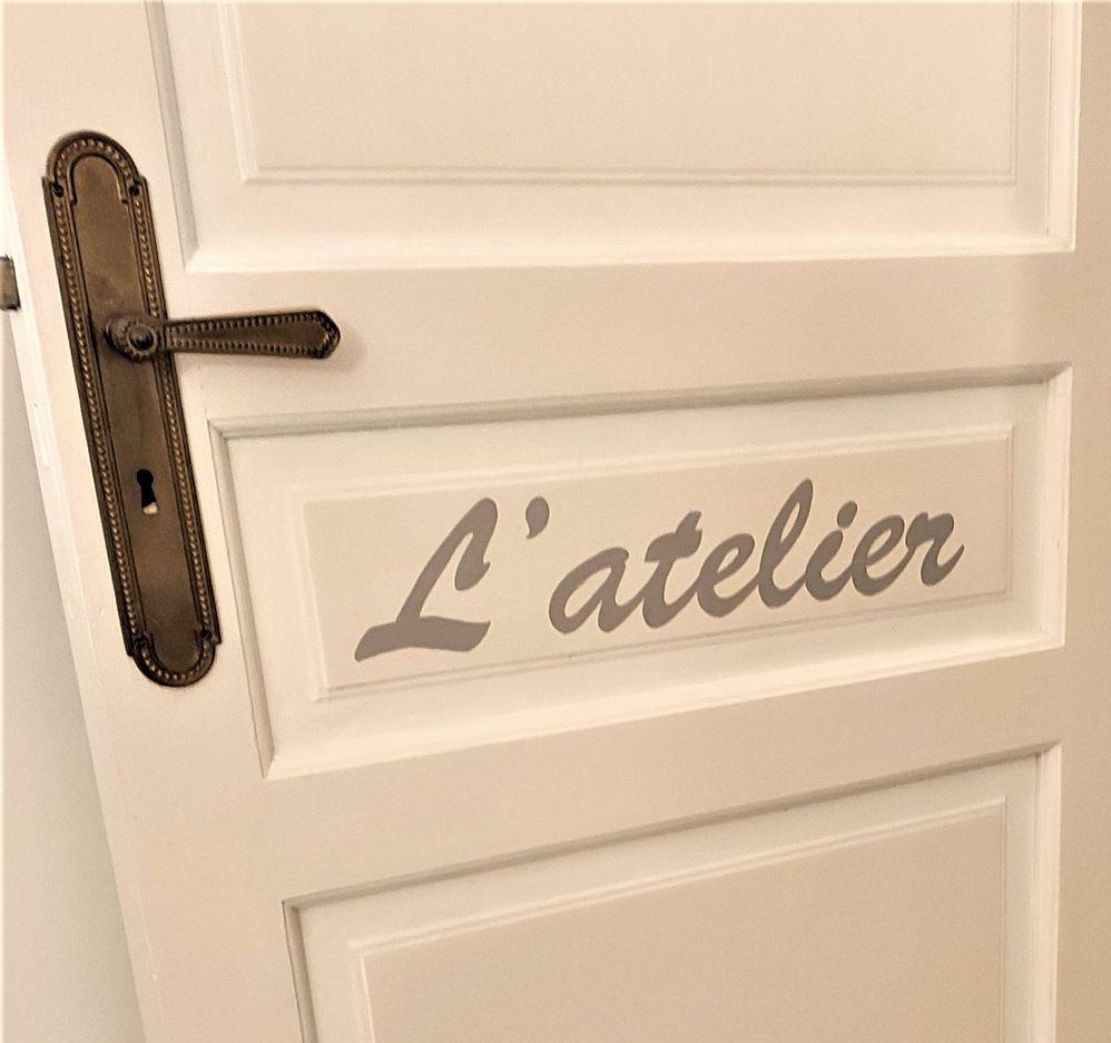 C'est écrit sur la porte !