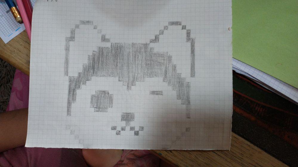 Pixel art enfants